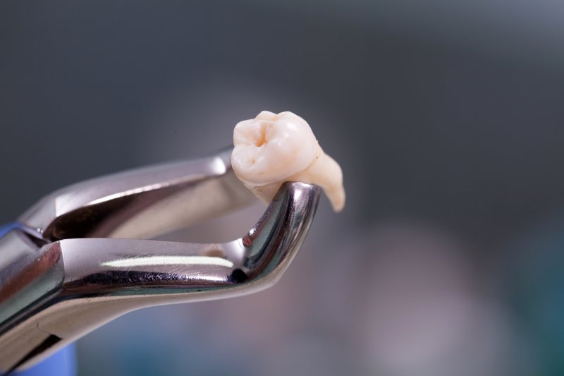 Pulled tooth